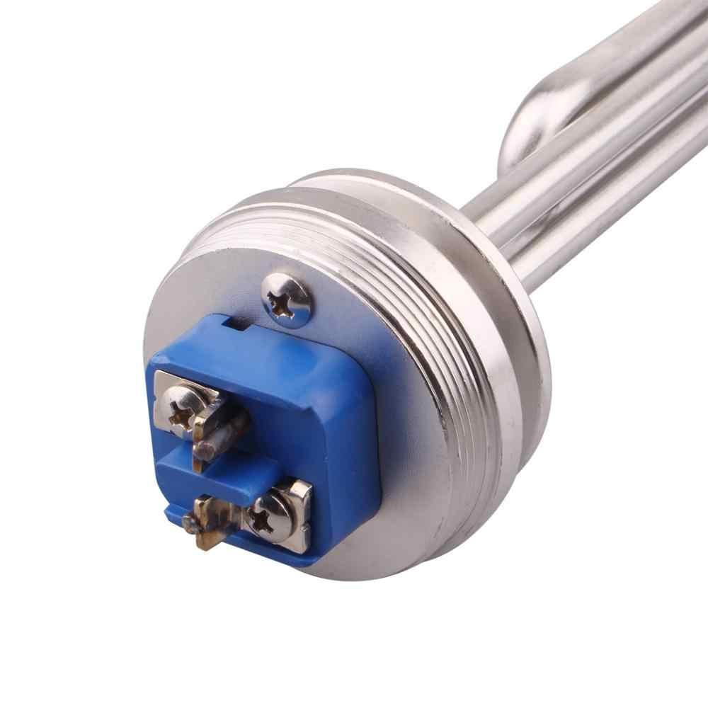 """1.5 """"Tri-pince 240V 3.5KW radiateur tubulaire électrique élément chauffant à eau d'immersion"""