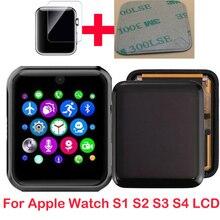 Новый ЖК дисплей для Apple Watch Series1 2 3 серии 4 5 38m 40 42 44 LCD сенсорный экран дигитайзер Pantalla Замена сотовый GPS