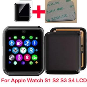Image 1 - 新しい液晶ディスプレイ時計Series1 2 3シリーズ4 5 38メートル40 42 44液晶タッチスクリーンタッチスクリーンデジタイザpantalla交換携帯gps