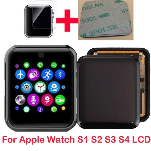 新しい液晶ディスプレイ時計Series1 2 3シリーズ4 5 38メートル40 42 44液晶タッチスクリーンタッチスクリーンデジタイザpantalla交換携帯gps