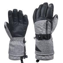 New Winter Warm Waterproof Wear-resistant Thickening Riding Gloves Non-slip Sports Ski Gloves Men And Women Gloves winter keeping warm reflective gloves waterproof wear resisting
