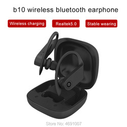 Wahre wireless tws B10 Headset Stereo Sport Kopfhörer Kopfhörer Mit Lade box Drahtlose ohr knospen fone de ouvido Pro
