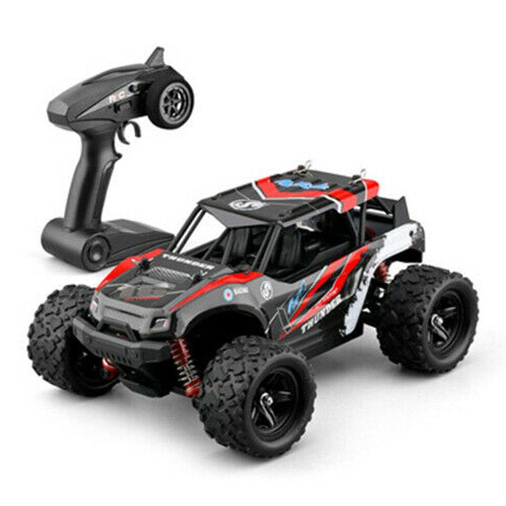 RC Cars 1:18 tout-terrain télécommande haute vitesse escalade voiture quatre roues motrices pleine échelle course véhicule jouets pour enfants - 2