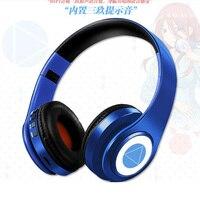 2021 beliebte Anime headset Miku Nakano Sanjiu Cosplay Bluetooth Headset 5,0 Über-ohr Stereo Anime kopfhörer für handy