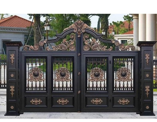 Sri Lankan Stainless Steel Tubular Grill Main Aluminium Gate Door Railing And Fence Wall Designs With Italian Gate Motors