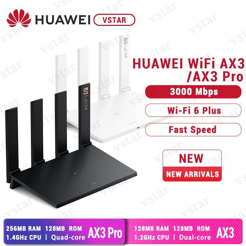 Original Huawei Router AX3 WiFi 6+ 3000Mbps Wireless Router Huawe WiFi AX3 Pro(China)