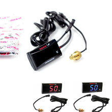 Universal motorcycle thermometer Digital thermometer for water temperature, display meter, torque adapter Sensor