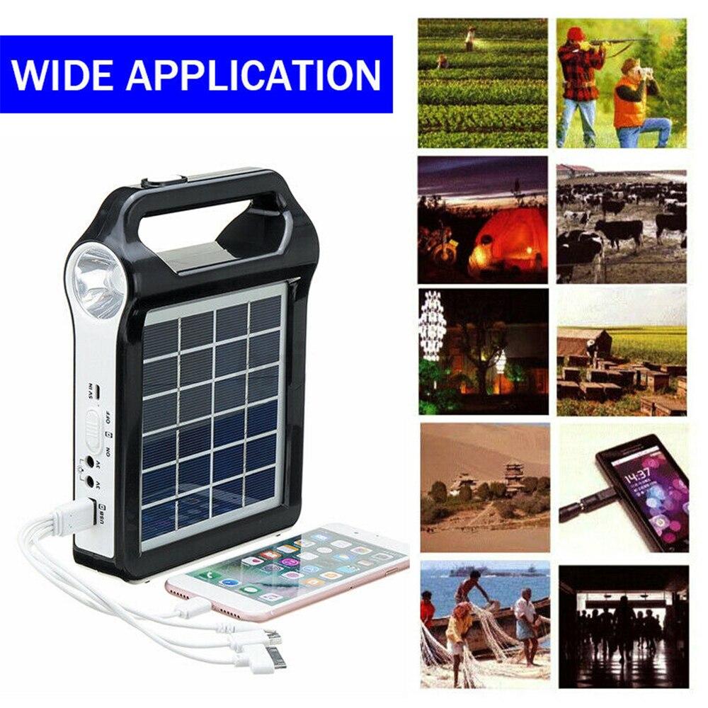 da lampada casa sistema energia solar kit 03