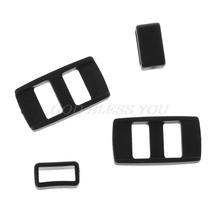 Adapter do paska na aparat plastikowe elementy klips na szyję na ramię akcesoria do aparatów cyfrowych Canon Nikon Sony Panasonic tanie tanio OOTDTY Innych Accessories Black 25x14mm 0 98x0 55in 13mm 0 51in 11mm 0 43in 2 Sets