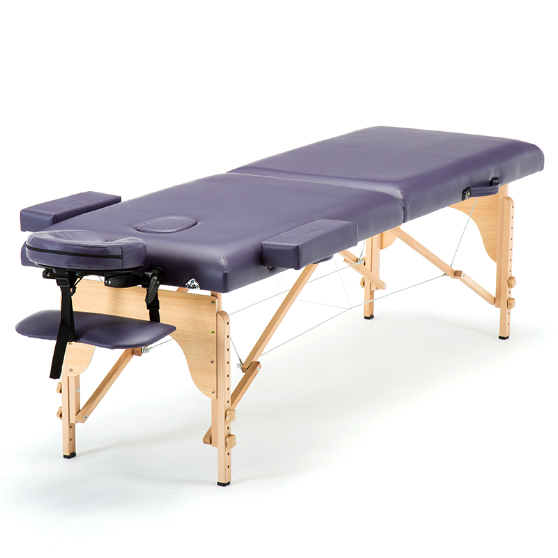 White Point Folding Massage Bed Massage Bed Portable Household Fire Therapy Needle Beauty Bed Physiotherapy Bed