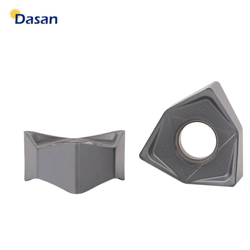 10pcs WNMU080608 Face Milling Inserts Oringinal Good Quality Mill Tungsten Carbide Cutter Plate Lathe Turning Tool