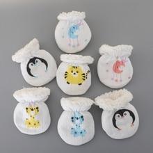 Gloves Newborn-Baby Girls Warm Boys Winter Cute for Gift Mittens Fleece Anti-Grab Thicken