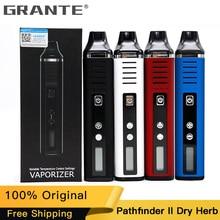 100% original Grante Pathfinder V2 Dry Herb Vaporizer Wax Kit II Vape Pen Mod 2200mAh Battery E-Cigs  Hugo Kits