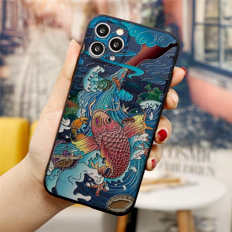 iPhone 12 Pro Max Embossed 3D Case