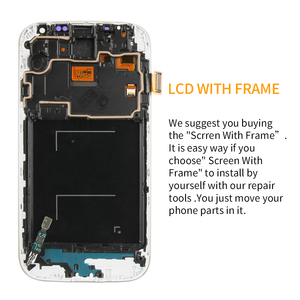 Image 2 - ЖК дисплей с рамкой, дигитайзер сенсорного экрана для SAMSUNG Galaxy S4, i9500, i9505, i9506, i9515, i337, экран 5 дюймов