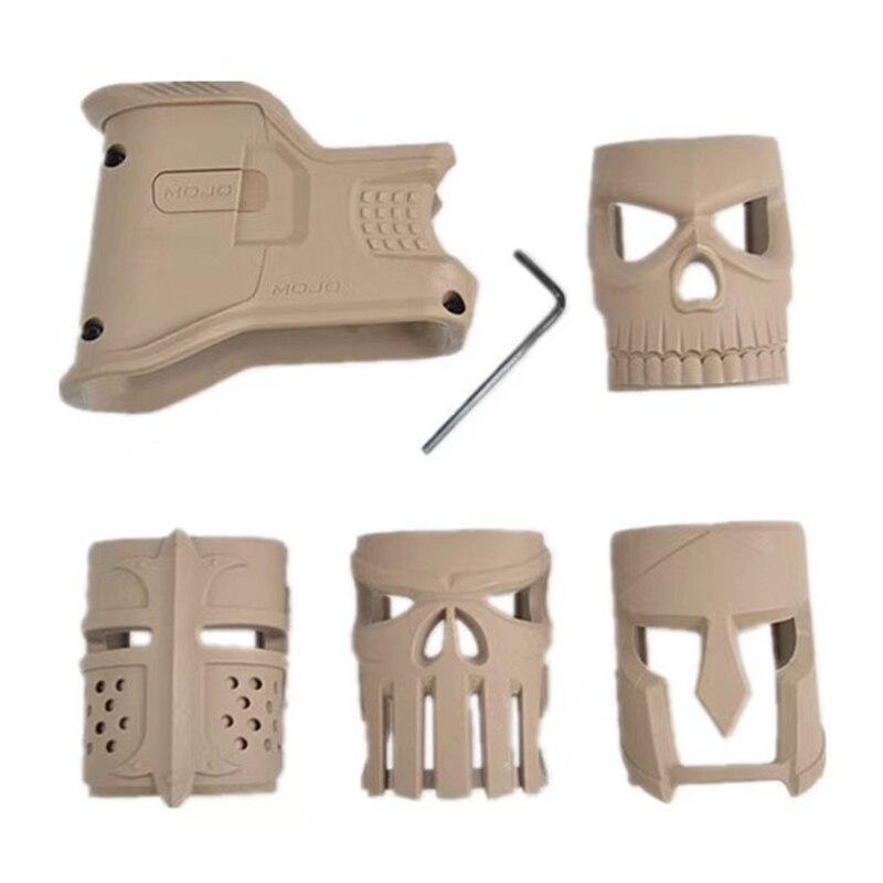 Outdoor Water Gun Front Grip Accessories AR-15 Magazine Grip Decorated Front Grip