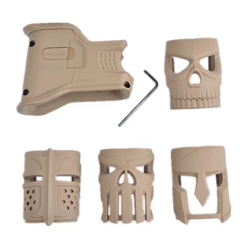 Outdoor Water Gun Front Grip Accessories AR-15 Magazine Grip Decorated Front Grip image