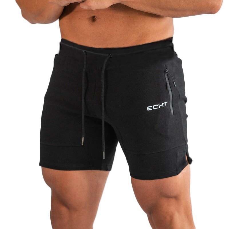 Men Shorts Compression-Short-Pants Jogger Gyms Fitness Workout Bodybuilding Breathable