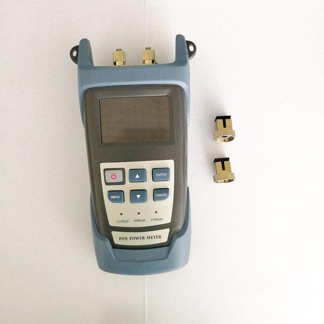 EPON GPON PON Güç Ölçer FTTH Fiber Test Cihazı 1310/1490/1550nm