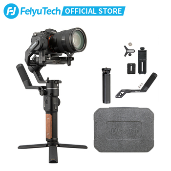 FeiyuTech AK2000S DSLR Camera Stabilizer Handheld Video Gimbal fit for DSLR Mirrorless Camera 2.2 kg Payload zhiyun crane 2 dslr gimbal stabilizer 3 axis brushless handheld video camera stabilizer kit for mirrorless camera load 3200g