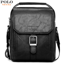 VICUNA POLO New Arrival Casual Business Man Bag Brand Leather Messenger