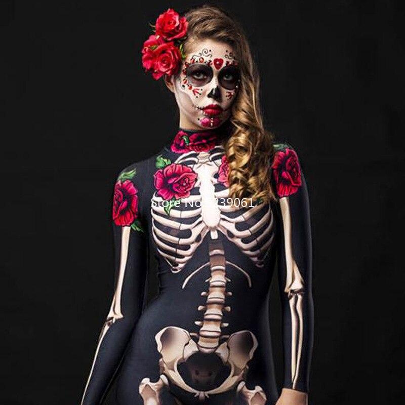 Homme Skull Knight Halloween Squelette Costume Robe Fantaisie