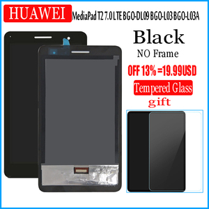 Image 2 - For Huawei MediaPad T2 7.0 LTE BGO DL09 BGO L03 BGO L03A LCD Display and with Touch Screen Digitizer Assembly