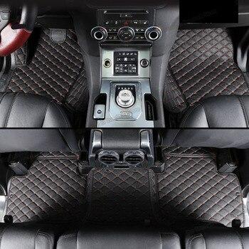 lsrtw2017 leather car floor mat for range rover sport L320 2005 2006 2007 2008 2009 2010 2011 2012 2013 land saloon accessories