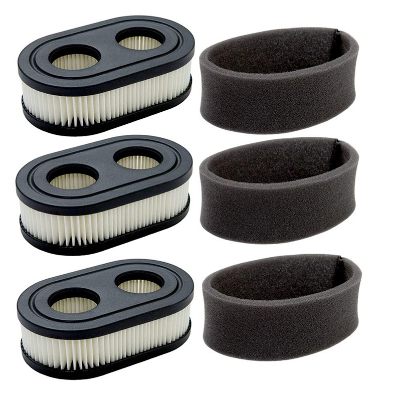 Pack of 4 Engine Air Filter Cartridge Compatible with 550E-550EX Series Replace 4247 5432 5432K 593260 798452