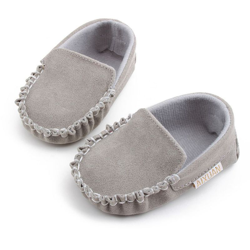 Baby Loafers Toddler Boy Girl First Walkers Shoes Soft Soled Non-slip Footwear Crib Shoes