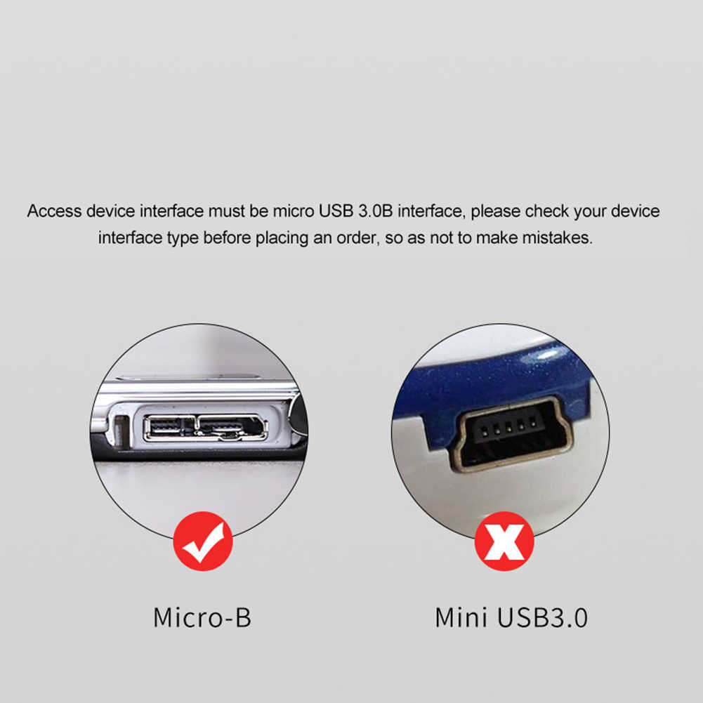 USB 3.0 A naar Micro B Male Adapter Converter Kabel voor Externe Harde Schijf Disk HDD Samsung S5 USB-C hard drive kabel