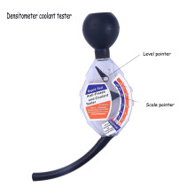 Радиатор охлаждающей жидкости тест воды er тест этилгликоль анти-замораживание проверка мера проверка специальные добавки система охлаждения Автомобильный сканер