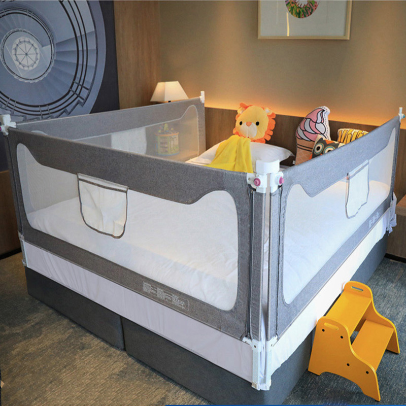Baby Bed Rail Fence Home Playpen Safety Gate Products Child Care Barrier For Beds Crib Rails Security Fencing Children Guardrail