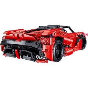 Image 3 - Şehir Racers Enzo süper yarış ölçekli spor araç seti teknik hızlı araçlar yapı taşları tuğla çocuk oyuncakları noel hediyeleri