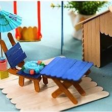 Lolly-Molds Kids Children Wood DIY Popsicle-Sticks Hand-Crafts Ice-Cream Cake-Making