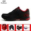 Tiebao/Профессиональная обувь для отдыха и велоспорта; обувь для велосипеда MTB; кроссовки с автоматическим замком; спортивная обувь для гонок; ...