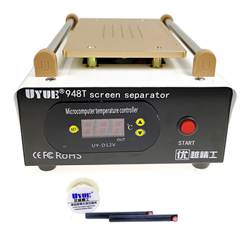 Touch Screen Separator UYUE 948T 7 Inch Mobile Phone Splitter Built-in  Preheat Separate Machine