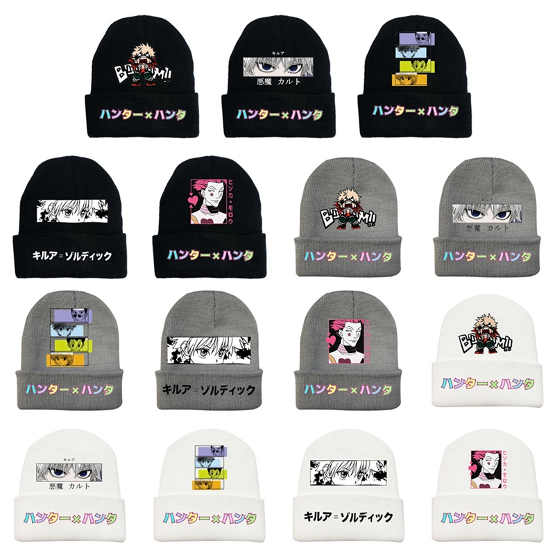 Anime My Hero Academia Autumn Winter Outdoor Warm Knit Hat Beanie Cap Cosplay Costume New
