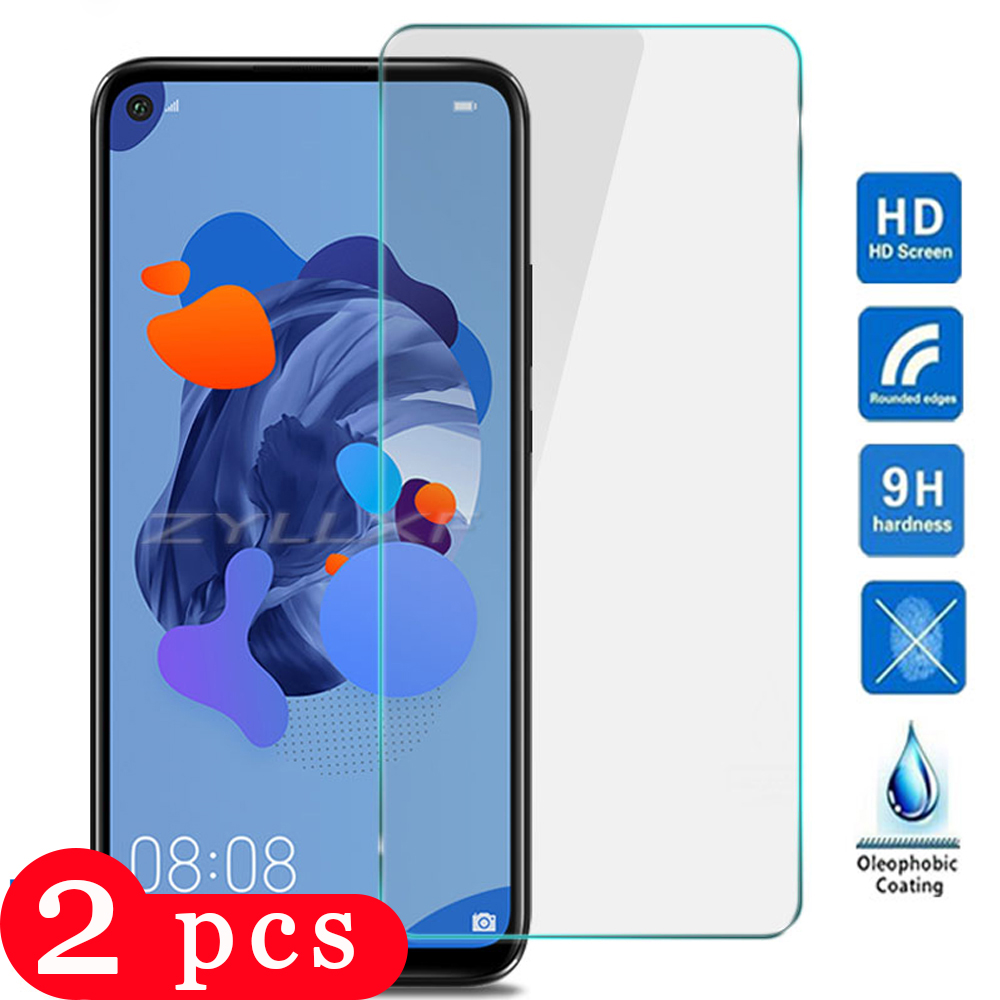 2Pcs For Huawei Nova 5 5i Pro 5T 5Z Tempered Glass Phone Screen Protector Protective Film Nova 4 4e 3 3i 3e On Glass Smartphone