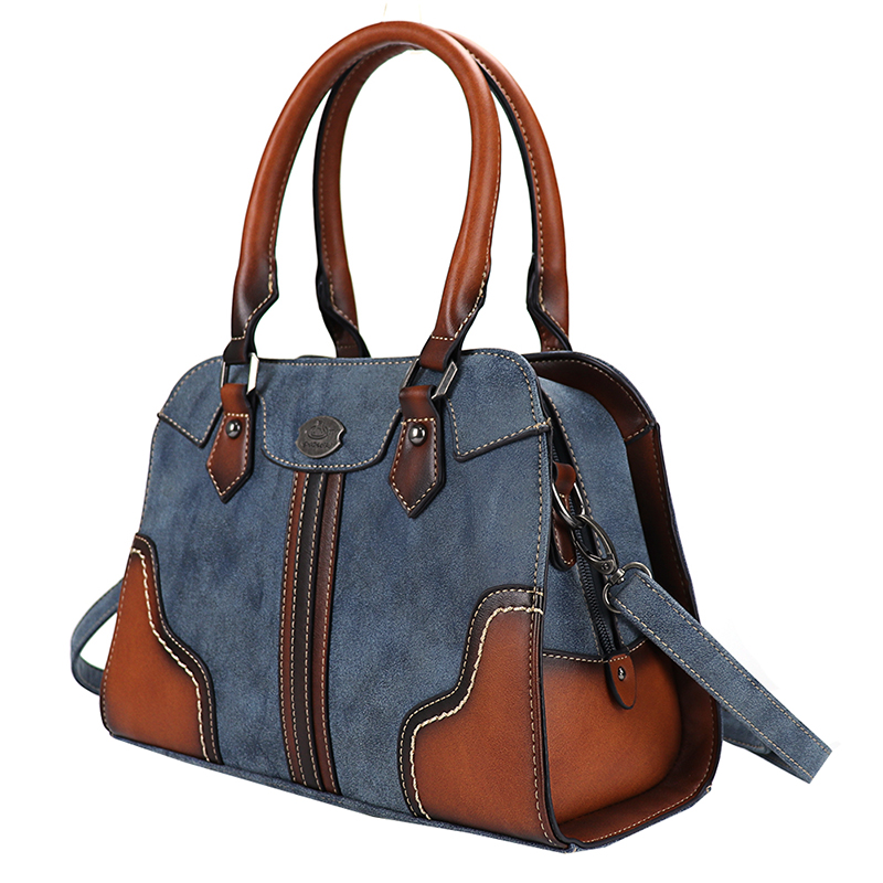 2019 New Retro Genuine Leather Women Bags Soft Hand Geometric Pattern Bag Large Capacity Multi-functional Brush Bag High Quality
