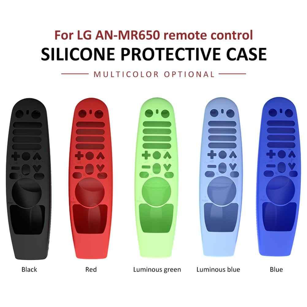 Nowy ochronny futerał silikonowy do Amazon LG AN-MR600 AN-MR650 AN-MR18BA AN-MR19BA magiczna pokrywa zdalnego sterowania odporna na wstrząsy zmywalna