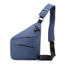Weysfor men travel business fino saco tático estilingue bolsa de ombro coldre anti-roubo bolsa masculina cinta de segurança armazenamento sacos de peito