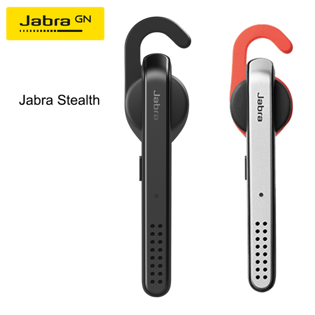 Jabra Stealth Bluetooth Wireless Earphone Advanced Noise Blocking Comfortable Fit Headset with Mic for Smartphone Calls