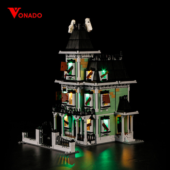 Led Light Compatible For Lego 10228 Monster Fighter The Haunted House Building Blocks Movie 16007 Toys( light with Battery box)