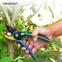 Gardening Pruning Shears Stainless Steel Scissors Grafting Fruit Branches Flower Trimming Tools Home Set DIY Tools
