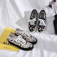 New Ulzzang Fashion Sneakers Women Canvas Shoes Ladies Casua