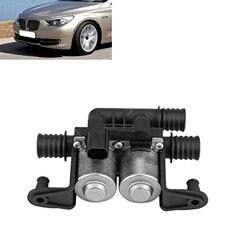 Podgrzewacz samochodowy zawór sterujący podwójny elektromagnetyczny samochód podwójny elektromagnetyczny akcesoria dla BMW serii 5 E38 E39 E46 E53 X5 6412837499 w Zawory i części od Samochody i motocykle na