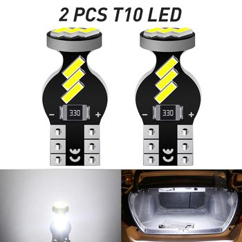 A Pack T10 W5W LED Bulbs Canbus For Car Parking Position Lights Interior Map Dome Light For Audi A3 8P A4 6B BMW E60 E90 12V image