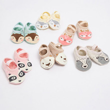 Baby Shoes Floor Socks Cartoon Animal Baby Moccasins Shoes Girl 1Pair Non-slip Baby Boy Shoes Infant First Walkers