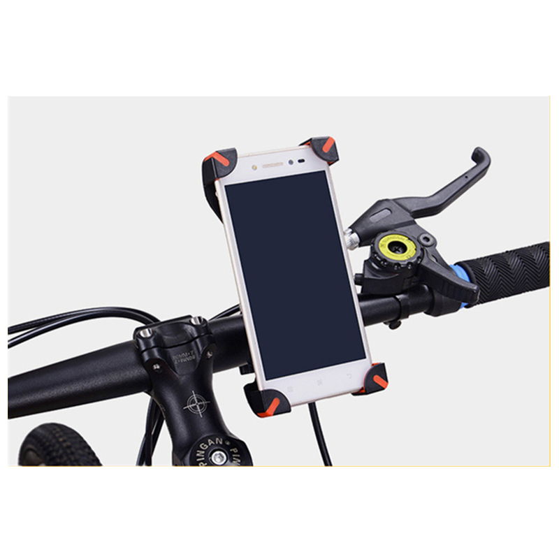 Universal Bicycle/Motorcycle Phone Holder With Secure Grip For Car Bike 5